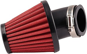 Auto Hub High Performance Bike Air Filters - Red
