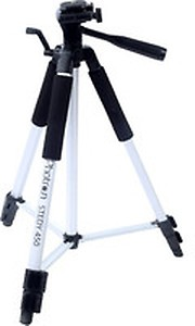 Photron Tripod Stedy 450 with 4.5 Feet Pan Head + Extra Quick Release Plate + Foam Grip + Carry Case price in India.