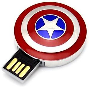Quace Captain America 16 GB Pen Drive(Multicolor) price in India.