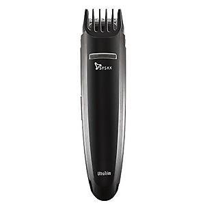 SYSKA HT200U Beard Pro Trimmer Runtime: 40 Mins Cordless Use (Black) price in India.