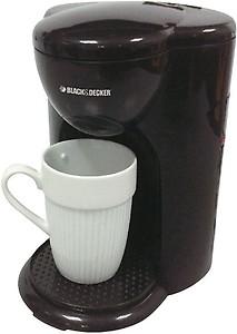 Black & Decker DCM25 Personal Coffee Maker(Black) price in India.