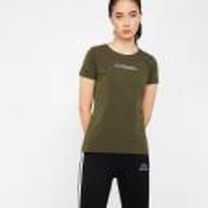 Casual Regular Sleeve Printed Women Dark Green Top