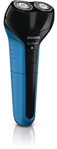 PHILIPS AT600/15 Shaver For Men(Black and Blue) price in India.