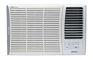Voltas 1.5 Ton 5 Star Window AC - White  (185DZA, Copper Condenser) price in India.