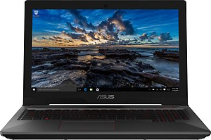 Asus FX503 Core i7 7th Gen - (8 GB/1 TB HDD/128 GB SSD/Windows 10 Home/4 GB Graphics/NVIDIA Geforce GTX 1050) FX503VD-DM112T Gaming Laptop  (15.6 inch, Black, 2.5 kg) price in India.