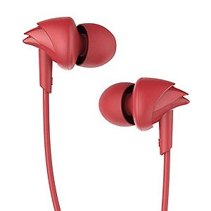 boAt BassHeads 100 In-Ear Wired Headphone ( Pink ) price in India.