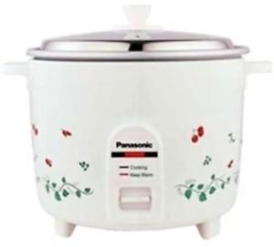 Panasonic SR WA 18 Electric Rice Cooker(1.8 L, White) price in India.