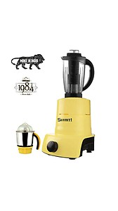 Sunmeet Yellow Color 1000Watts Mixer Juicer Grinder with 3 Jar (1 Juicer Jar with Filter, 1 Medium Jar and 1 Chuntey Jar) price in India.