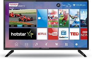 Thomson B9 Series 80cm (32 inch) HD Ready LED Smart TV(32M3277) price in India.