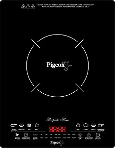 Pigeon Rapido Slim Induction Cooktop(Black, Touch Panel) price in India.