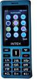 Intex Turbo 108+ Mobile - Grey Color price in India.