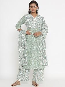 floral suit set