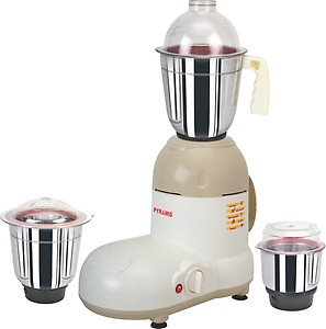 Pigeon Jx4 Gusto 550 W Mixer Grinder  (White, 3 Jars) price in India.