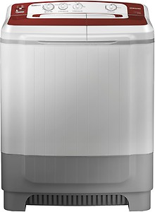 Samsung 8 kg Semi Automatic Top Load Maroon, Grey(WT80M4000HR/TL) price in India.