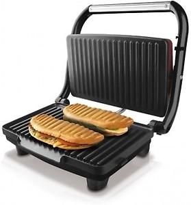 Nova 2 Slice Panni Grill Sandwich Maker Grill, Toast(Black) price in India.
