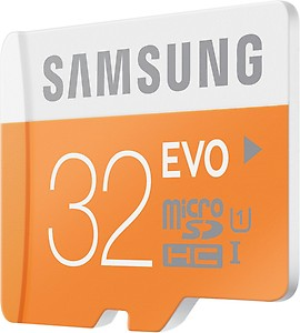 Samsung Evo 32 GB MicroSDHC Class 10 48 MB/s Memory Card price in India.