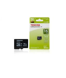 Toshiba 16 GB Class 10 Memory Card price in India.