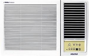 Voltas 1 Ton 3 Star Window AC (123 Lyi/123 LZF White) price in India.