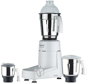 Preethi Popular MG 142 750-Watt Mixer Grinder with 3 Jars (White) price in India.