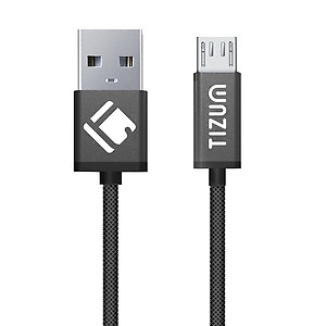 TIZUM Indestructible Micro-USB to USB Cable (1.2 meter/ 4 Feet) Fast Charging