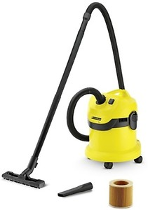Karcher WD3* EU-I/WD3* EU Wet & Dry Vacuum Cleaner  (Black, Yellow) price in India.