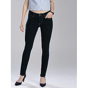 Women's Black Denim Casual Jeans Pant