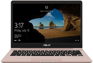 Asus ZenBook 13 Core i5 8th Gen - (8 GB/512 GB SSD/Windows 10 Home) UX331UAL-EG058T Thin and Light Laptop(13.3 inch, Rose Gold, 0.98 kg) price in India.