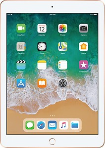 Apple iPad (6th Gen) 128 GB ROM 9.7 inch with Wi-Fi Only (Gold) price in India.