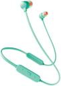JBL Tune 125BT Bluetooth Headset(Green, In the Ear)