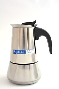 Kitchen Mart KMCP06 6 cups Coffee Maker(Steel) price in India.
