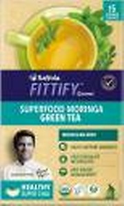Saffola Fittify Gourmet Superfood Moringa Moroccan Mint Green Tea Box  (37.5 g)
