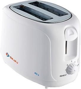 Bajaj ATX 4 750-Watt Pop-up Toaster (White) price in India.
