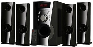 KRISONS EIFFEL 4.1 (5.25) Bluetooth Home Theatre(Black, 4.1 Channel) price in India.