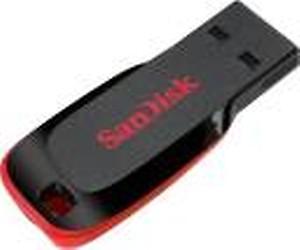 SanDisk SDCZ50-064g-I35 /SDCZ50-064g-B35 64 GB Pen Drive(Black, Red)