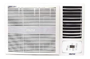 Voltas 1.5 Ton 5 Star Window AC (185 LZH, White) with Copper Condenser price in India.