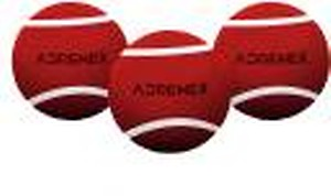 Adrenex by Flipkart Heavy Cricket Tennis Ball(Pack of 3, Red)