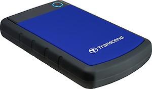 Transcend StoreJet 25M3 2.5 inch 2 TB External Hard Disk(Black) price in India.