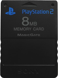 Red Gear-RG 8MB Memory Card for PS2 price in India.