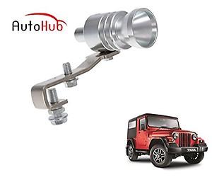 Auto Hub Turbo Sound Car Silencer Whistle for Mahindra Thar