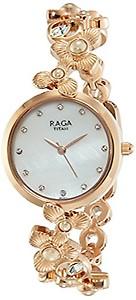 Titan Raga Aurora Analog Mother of Pearl Dial Women's Watch NM95048WM01 / NL95048WM01