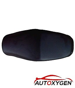 Autoxygen Bike Scooter Seat Cover for Honda Activa/Activa 3G/Activa 4G/Activa 5G (Black)