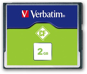 Verbatim 2GB Compact Flash CF Card for CNC Machine price in India.