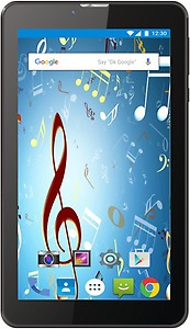Ikall N9 Tablet (7 inch, 8GB, 3G + Voice Calling), Black price in India.