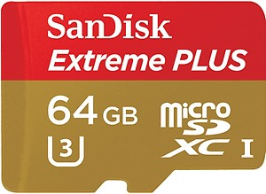 SanDisk Ultra 64 GB Ultra SDHC Class 10 80 MB/s Memory Card price in India.