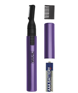 Wahl Clean & Confident Ladies Battery Pen Trimmer & Detailer with Rinseable Blades for Hygienic Grooming & Easy Cleaning for Eyebrows, Facial Hair, Bikini Lines, Other Detailing (purple) price in India.