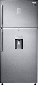 Samsung 523 L Frost Free Double Door 3 Star (2019) Refrigerator  (Easy Clean Steel, RT54K6558SL/TL) price in India.