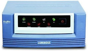 LUMINOUS Eco Watt UPS 750/12v Luminous ECO WATT UPS 750/12v Square Wave Inverter price in India.
