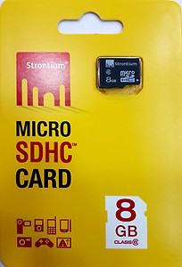 Samsung Class 6 8 GB MicroSDHC Class 6 24 MB/s Memory Card price in India.