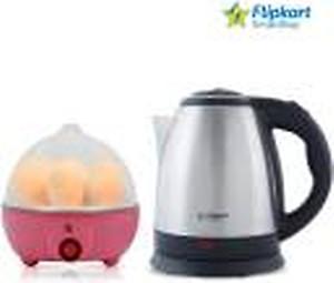 Flipkart SmartBuy kettle and egg boiler Electric Kettle(1.8 L, Multicolor)