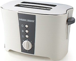 Black & Decker ET122 800 W Pop Up Toaster(White) price in India.